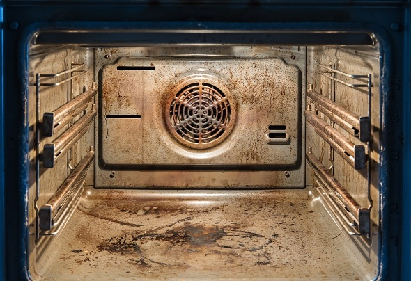Right steps to clean a tabletop oven