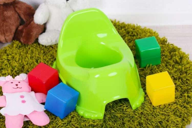 how to clean the baby potty seat