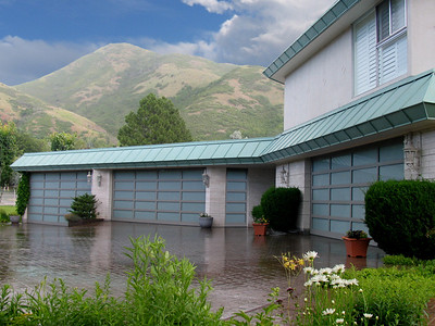 What are the benefits of using a garage door